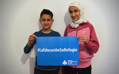 Haz que la educación de los menores refugiados no sea una asignatura pendiente