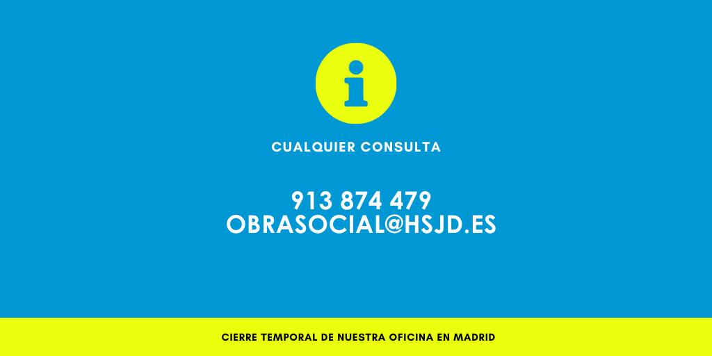 Cerramos temporalmente nuestra oficina en Madrid