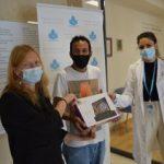 Entrega de ordenadores y tablets a los refugiados por la campaña #LaEducaciónSuRefugio