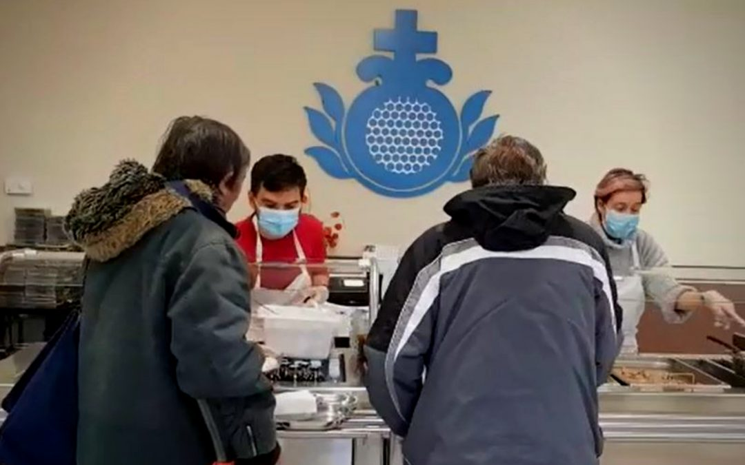 San Juan de Dios atiende a 210 personas sin hogar durante la pandemia del Covid 19