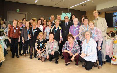El Hospital San Juan de Dios de Santurtzi fabrica artículos para ayudar al centro de salud de New Kru Town