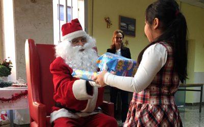La sonrisa navideña de los más pequeños