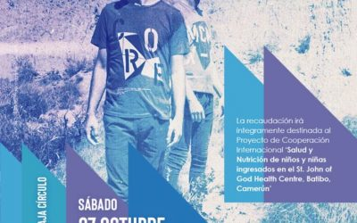 Burgos celebra un concierto solidario con 25 niños de Camerún