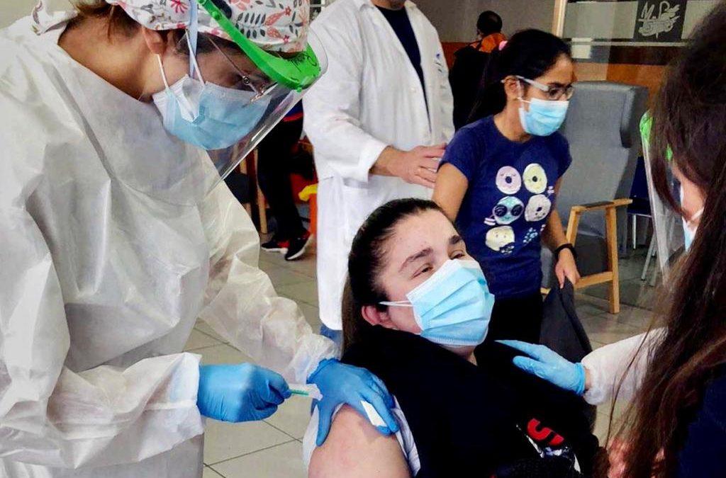 """«Sé que ponerme la vacuna es el primer paso para que, poco a poco, recuperemos entre todos la normalidad"""""""
