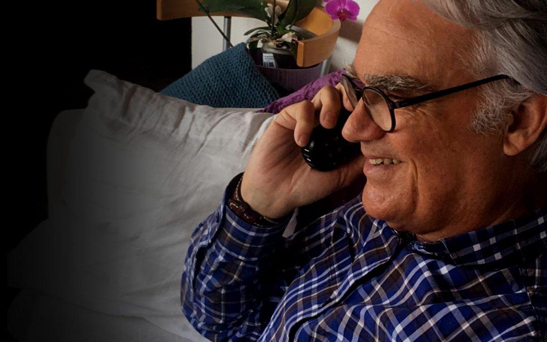 Programa tercera edad acompañamiento teléfonico Obra Social San Juan de Dios