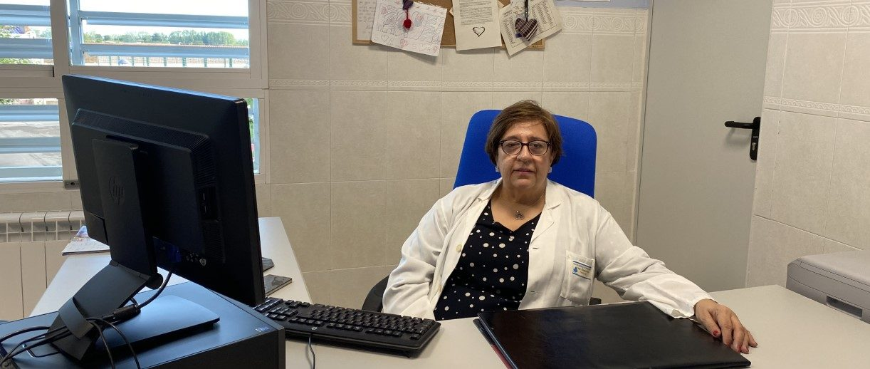 Irene Romero, psicóloga del Centro de San Juan de Dios de Palencia