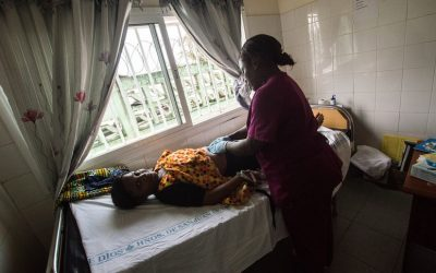 Energía eléctrica para el centro de salud de New Kru Town